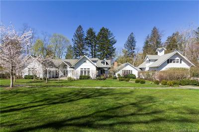Ridgefield Single Family Home For Sale: 41 Peaceable Street