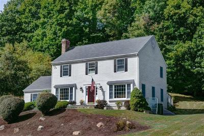 Ridgefield Single Family Home For Sale: 24 Millstone Court