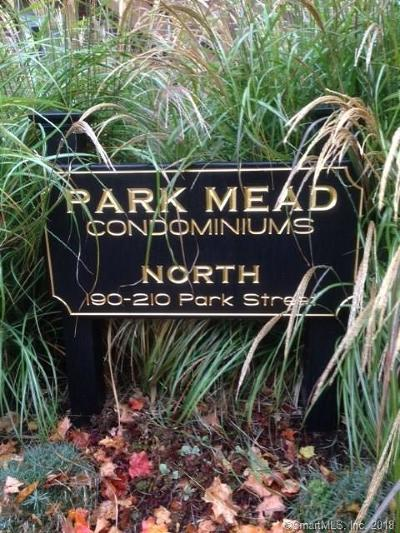 New Canaan Condo/Townhouse For Sale: 208 Park Street #21