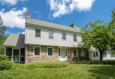 Wilton Single Family Home For Sale: 59 Old Belden Hill Road
