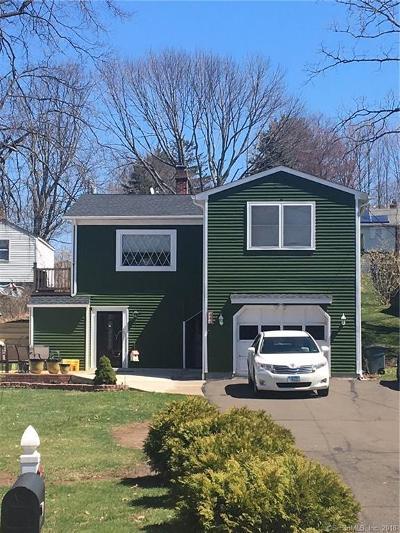 Meriden Single Family Home For Sale: 231 Sunset Avenue