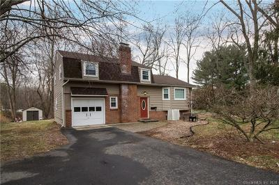West Hartford Single Family Home For Sale: 212 Mountain Road