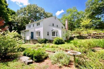 Weston Single Family Home For Sale: 40 Hillside Road North