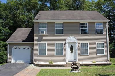 Tolland County, Windham County Single Family Home For Sale: 51 Hilltop Drive #51