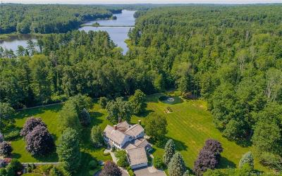 Wilton Single Family Home For Sale: 173 Drum Hill Road