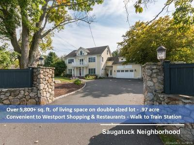 Westport CT Single Family Home For Sale: $1,479,000