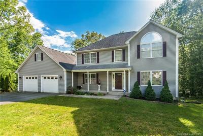 Preston Single Family Home For Sale: 33 Tanglewood Drive