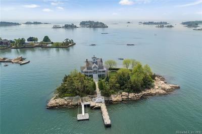 Branford Single Family Home For Sale: Wheelers Island