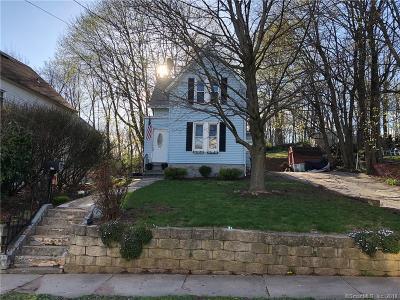 Meriden CT Single Family Home For Sale: $154,900