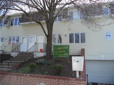Bridgeport Condo/Townhouse For Sale: 995 Capitol Avenue #J