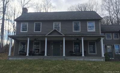Litchfield Single Family Home For Sale: 153 Brush Hill Road