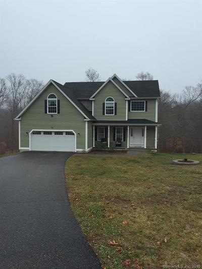 Ledyard Single Family Home For Sale: 22 Chidley Way