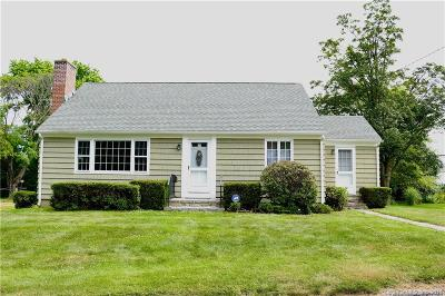 Stonington Single Family Home For Sale: 20 Coburn Avenue
