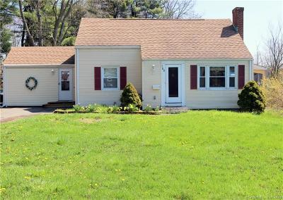 Newington Single Family Home For Sale: 760 Willard Avenue