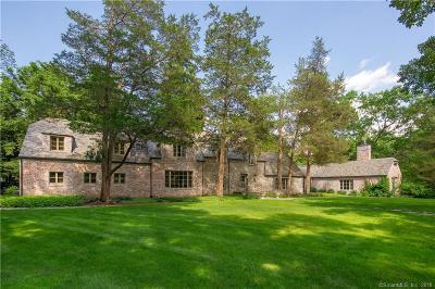 Weston Single Family Home For Sale: 55 Davis Hill Road