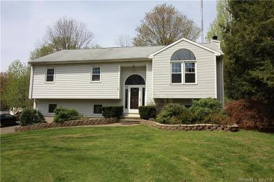 New Haven County Single Family Home For Sale: 1219 West Woods Road