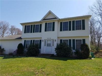 Naugatuck Single Family Home For Sale: 356 Allerton Road