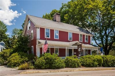 Stonington Single Family Home For Sale: 52 Main St (Old Mystic)