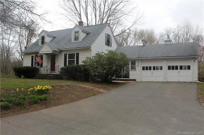 Watertown Single Family Home For Sale: 279 Straits Turnpike