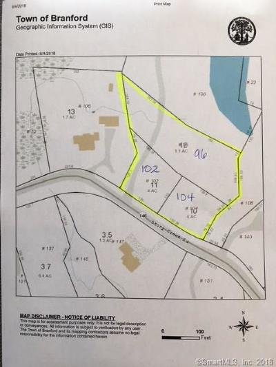 Branford Residential Lots & Land For Sale: 96-104 Stony Creek Road