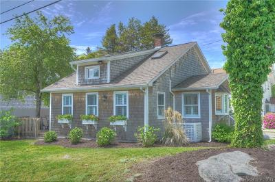 Stonington Single Family Home For Sale: 50 James Street