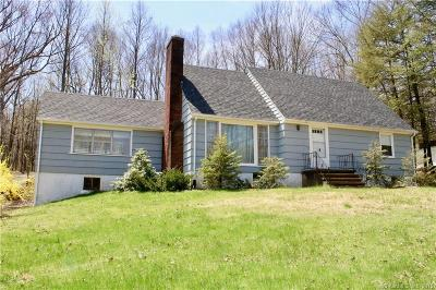 Cheshire Single Family Home For Sale: 1567 Waterbury Road