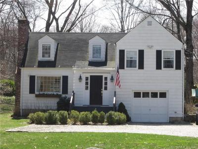 Wilton Single Family Home For Sale: 33 Westport Road