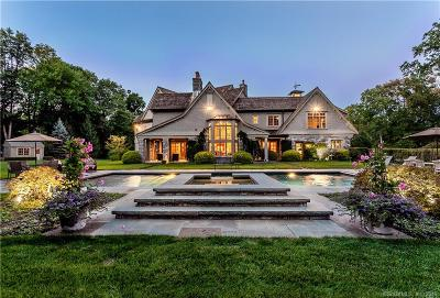 New Canaan Single Family Home For Sale: 35 Charter Oak Lane