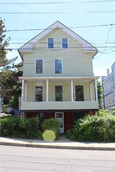 Meriden Multi Family Home For Sale: 27 Benjamin Street