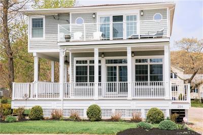 Branford Single Family Home For Sale: 284 Shore Drive