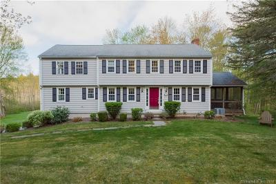 Simsbury Single Family Home For Sale: 8 Victoria Lane