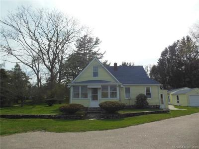 Stonington Single Family Home For Sale: 168 River Road