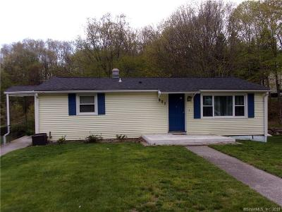 Watertown CT Single Family Home For Sale: $169,000