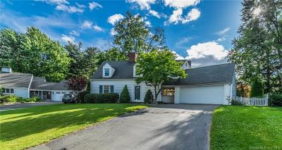 West Hartford Single Family Home For Sale: 108 Spring Lane