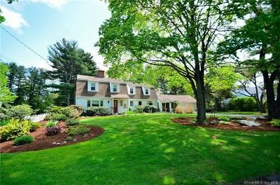 West Hartford Single Family Home For Sale: 28 Lakeview Drive