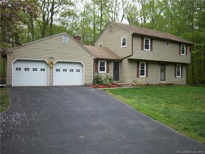 Ledyard Single Family Home For Sale: 3 Osprey Drive