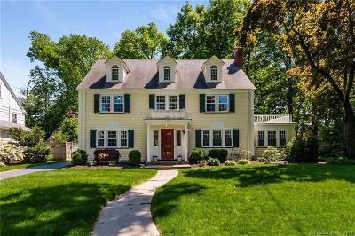 West Hartford Single Family Home For Sale: 33 Birch Road
