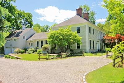 Ridgefield Single Family Home For Sale: 29 West Lane