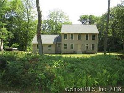 Windham County Single Family Home For Sale: 53 Mullen Hill Road