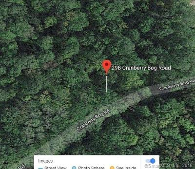 Windham County Residential Lots & Land For Sale: 298 Cranberry Bog Road