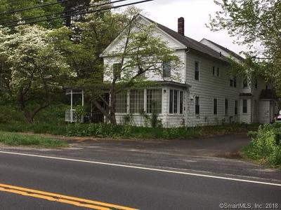 New Milford Single Family Home For Sale: 691 Kent Road