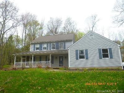 Cheshire Single Family Home For Sale: 780 Mountain Road