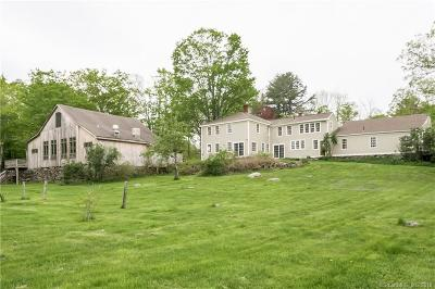 Eastford Single Family Home For Sale: 134 Union Road