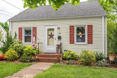 Wethersfield Single Family Home For Sale: 78 Buckland Road