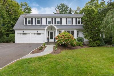Darien Single Family Home For Sale: 5 Beach Drive
