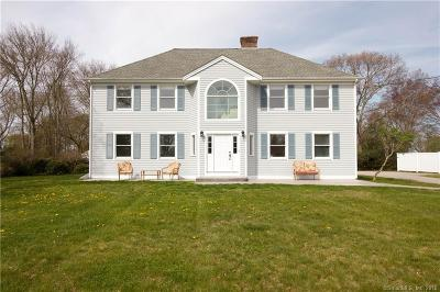 Stonington Single Family Home For Sale: 27 Clipper Drive