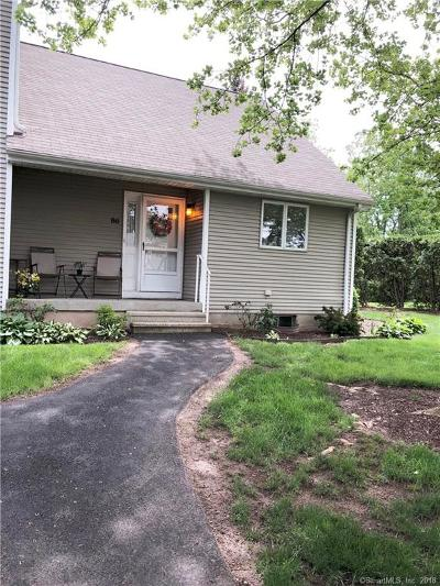 Newington Condo/Townhouse For Sale: 86 Sunrise Circle #86