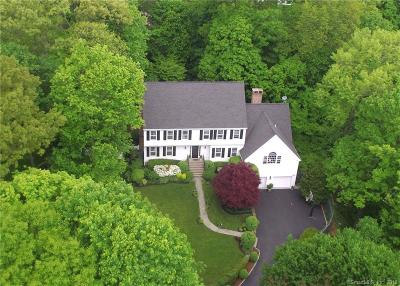 Darien Single Family Home For Sale: 17 Whaling Road