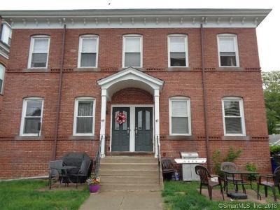 Windsor Locks Condo/Townhouse For Sale: 47 Grove Street #47