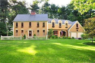 Simsbury Single Family Home For Sale: 11 Drumlin Road